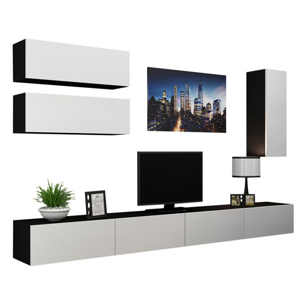 میز تلویزیون بدون پایه